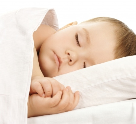 sleep and relaxation as a child
